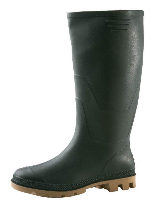 Pracovní holinky z PVC - zelené Boots
