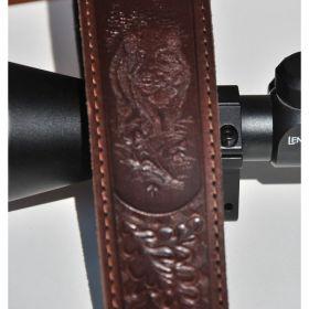 Řemen na zbraň protiskluzový 5 cm s motivem divočáka