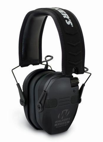 Elektronická sluchátka Walker's Razor Slim se 4 mikrofony a funkcí Bluetooth - černé GSM Outdoors