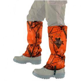 Návleky CAMO oranžové WildZone - divočák