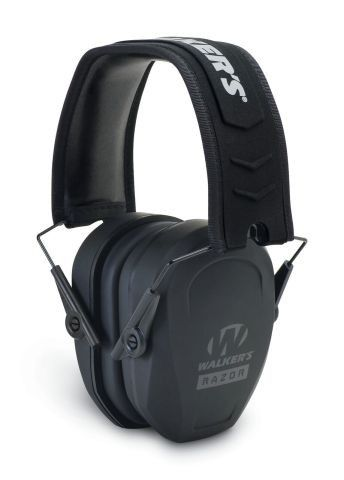 Pasivní sluchátka Walker's Razor Slim - černé GSM Outdoors