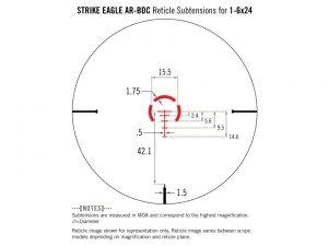 Puškohled Vortex - Strike Eagle 1-6x24