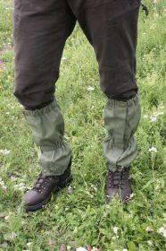 Zelené návleky Carl Mayer s ocelovým lankem