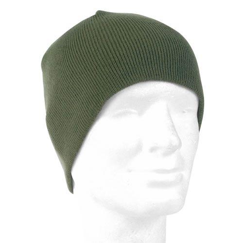 Čepice BEANIE pletená POLYACRYL zelená MIL-TEC®