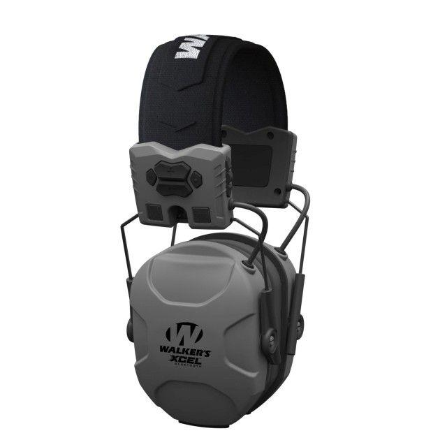 Elektronická sluchátka Walker's XCEL 500BT - šedé GSM Outdoors