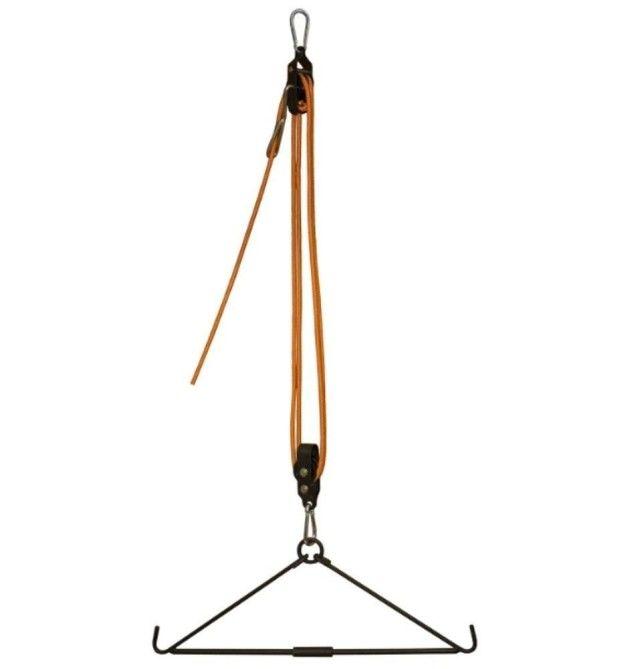Hák (rozporka) pro zavěšení zvěře + kladka až 225 kg Hunting Made Easy