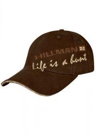 Hillman kšiltovka Life is a hunt - hnědá