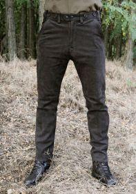 Kalhoty kožené hnědé Rabenau Braun