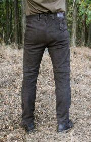 Kalhoty kožené hnědé Rabenau Braun Carl Mayer