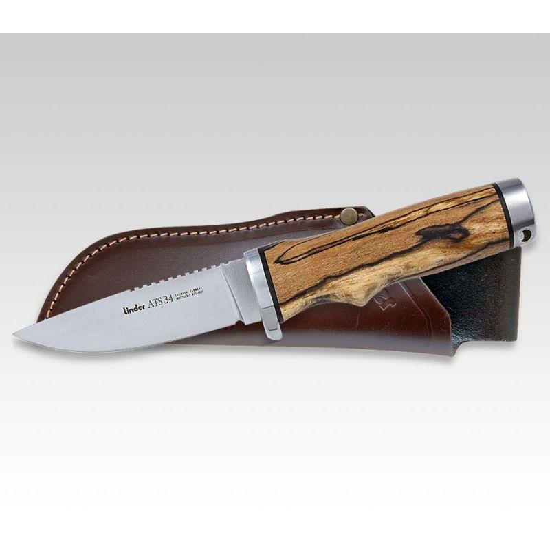 Lovecký nůž LINDER ATS 34 HUNTER 1
