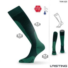 Podkolenky Lasting TKHK 620 - zimní - zelené