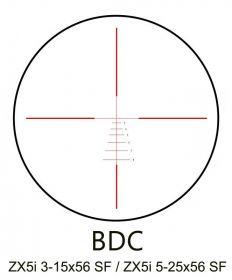 Puškohled Minox ZX5i 5-25x56 SF IL BDC