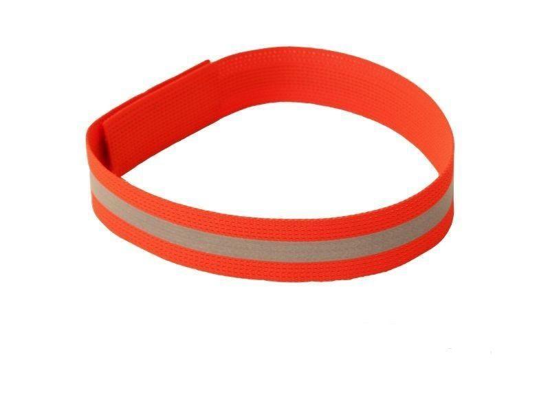 Reflexní obojek / páska s pruhem na suchý zip Zubíček