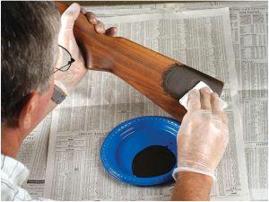 Sada pro znovuoživení povrchu dřevěné pažby Miles Gilbert