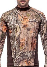Hillman T-Shirt Long Sleeve tričko - 3DX kamufláž
