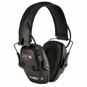 Elektronická střelecká sluchátka Howard Leight Impact Sport - černé