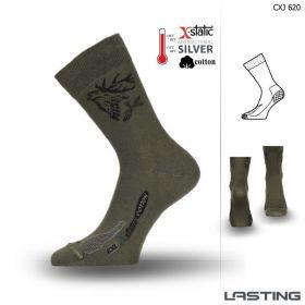 Lasting funkční ponožky CXJ zelené