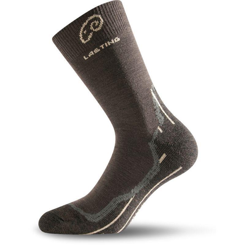 Lasting merino ponožky WHI hnědé Lasting Sport s.r.o.
