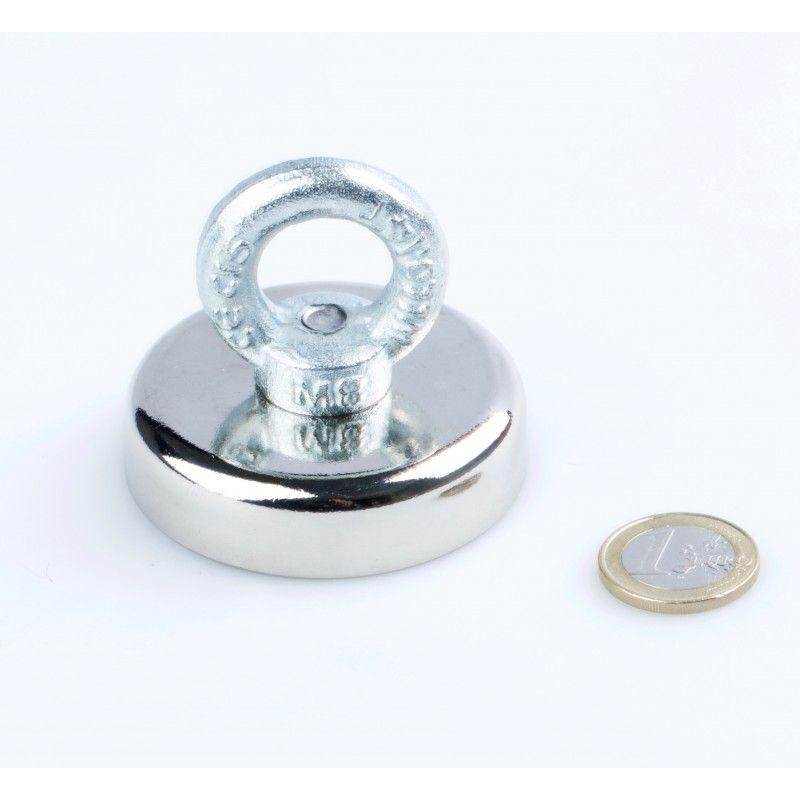 Magnet pro lovce pokladů M-9 s magnetickou silou 135 kg UNIMAGNET s.r.o.