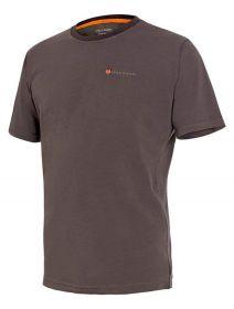 Myslivecké tričko s límečkem kr. rukáv Cotton - dub
