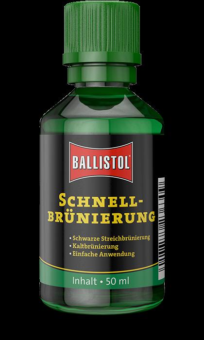 Rychlo-černidlo na zbraně Ballistol KLEVER 50 ml