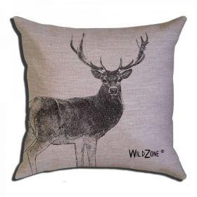 WildZone polštář s motivem jelena