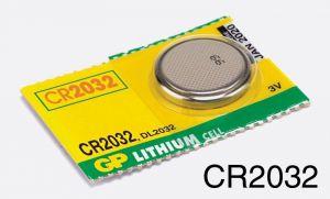 Baterie CR2032 pro puškohledy a kolimátory