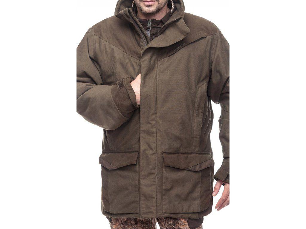 Hillman Bolt Coat lovecká zimní bunda - dub