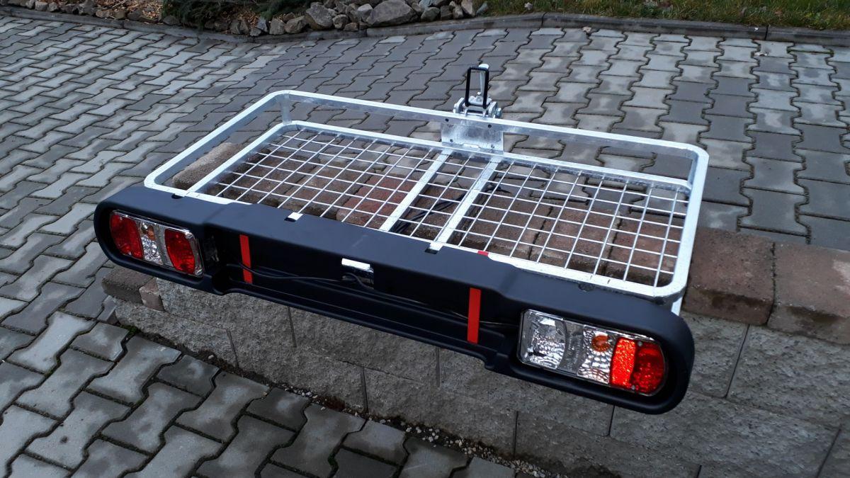 Nosič zvěře - šroubová sklopná hlavice (držák), světelná rampa Automena Czech