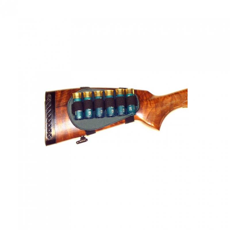 Pouzdro na náboje textilní - na pažbu - brokové Zubíček