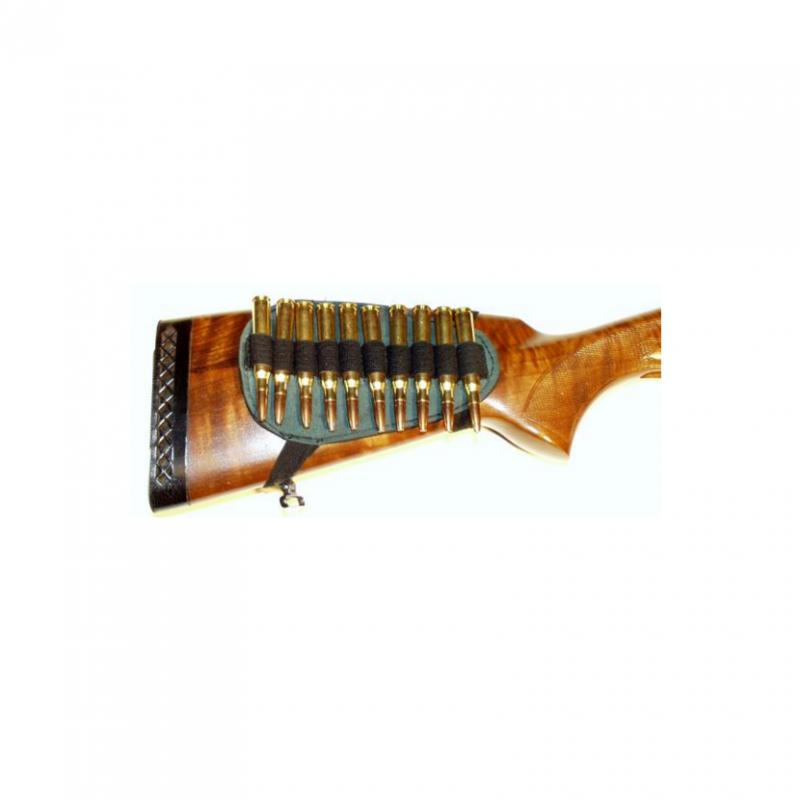 Pouzdro na náboje textilní - na pažbu - kulové Zubíček