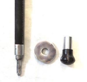 Sedací hůl s hrotem a krytkou hrotu GooDFellow