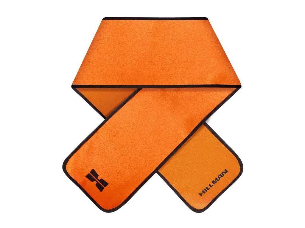 Signální šála Hillman - oranžová