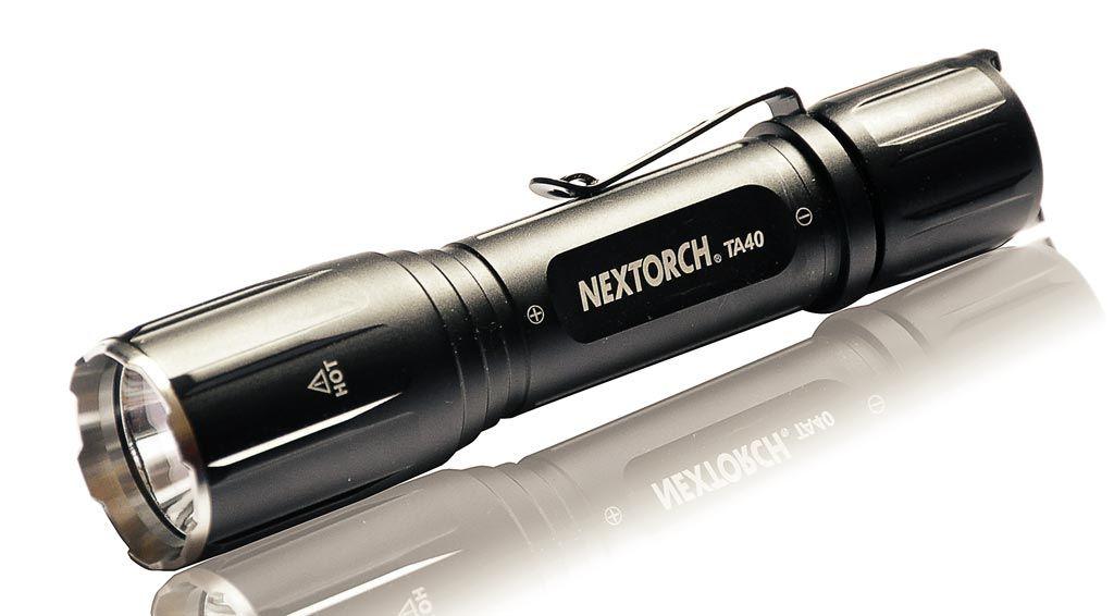 Taktická svítilna na zbraň - TA40 NexTORCH